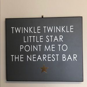 Other - 'Twinkle, Twinkle...' Sign